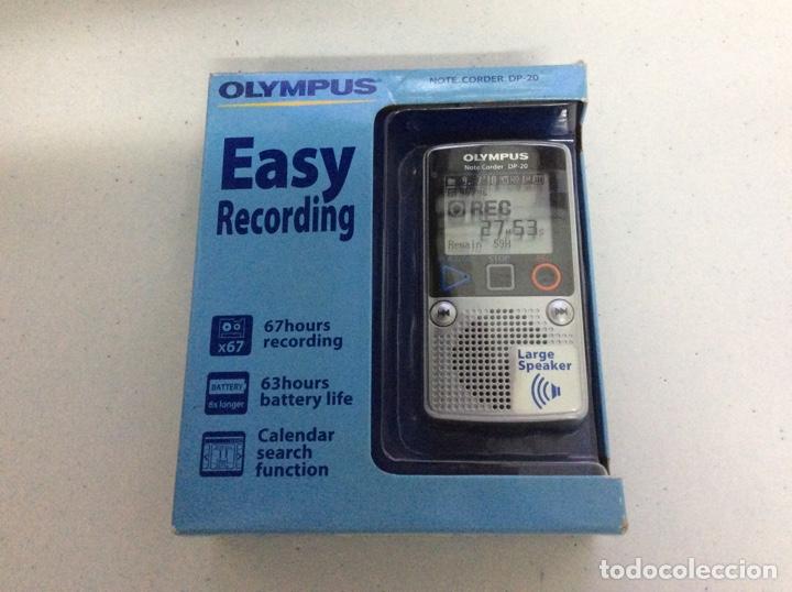 GRABADORA OLYMPUS DP-20 A ESTRENAR (Radios, Gramófonos, Grabadoras y Otros - Transistores, Pick-ups y Otros)