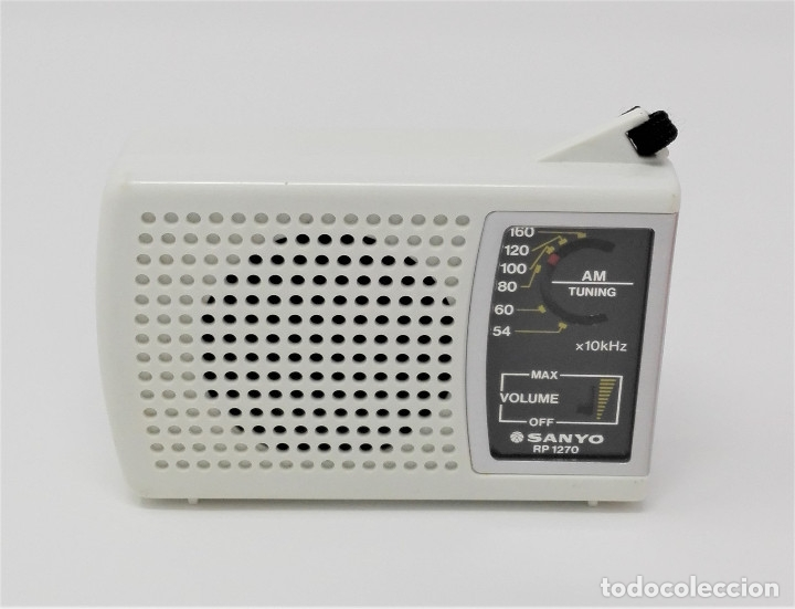 RADIO TRANSISTOR VINTAGE SANYO RP-1270 (Radios, Gramófonos, Grabadoras y Otros - Transistores, Pick-ups y Otros)