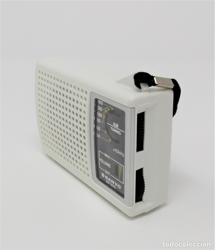 Radios antiguas: Radio Transistor Vintage SANYO RP-1270 - Foto 2 - 176271782