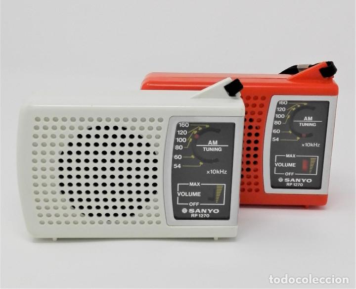 Radios antiguas: Radio Transistor Vintage SANYO RP-1270 - Foto 4 - 176271782