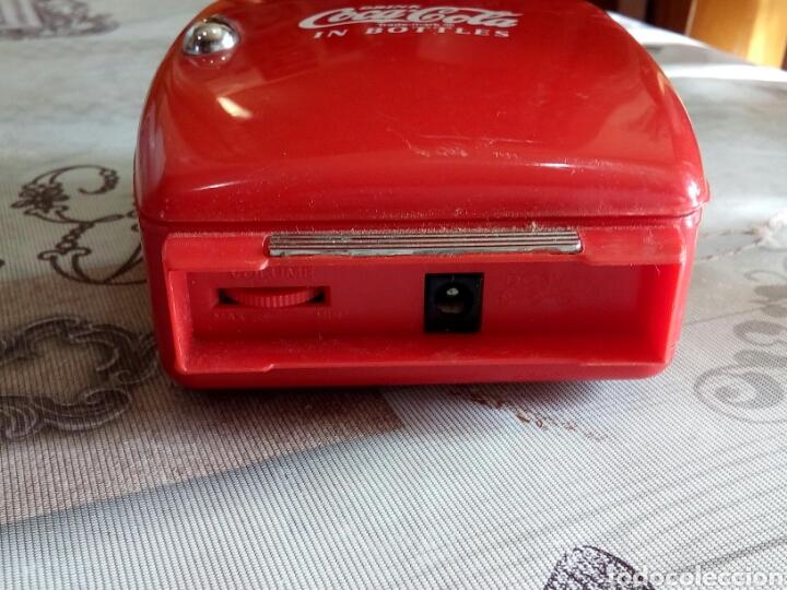 Radios antiguas: WALMAN EN FORMA DE NEVERA COCA COLA - Foto 5 - 176273142