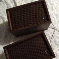 Radios antiguas: COLUMNAS DE SONIDO VINTAGE, MARCA SONY. Lote 176340659