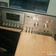 Radios antiguas: PLETINA/DECK VINTAG **FISHER**. Lote 176515128