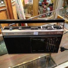 Radios antiguas: RADIO CASSETTE SANYO M 2110FZ - RADIO FUNCIONANDO. Lote 176541618