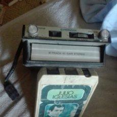 Radios antiguas: REPRODUCTOR CASSETTE CARTUCHO PIONEER 8 BANDAS ESTÉREO FUNCIONANDO. Lote 176625902