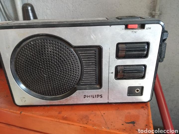 Radios antiguas: Transistor radio Philips - Foto 2 - 176807265
