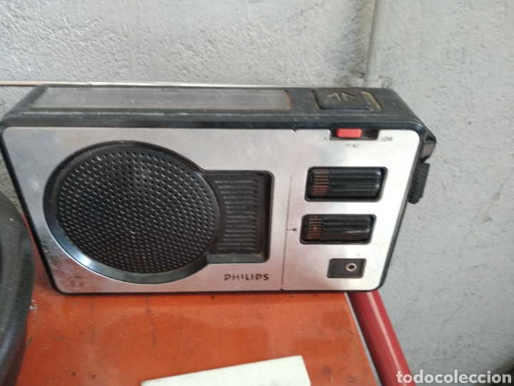 TRANSISTOR RADIO PHILIPS (Radios, Gramófonos, Grabadoras y Otros - Transistores, Pick-ups y Otros)