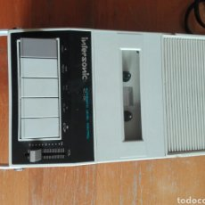 Radios antiguas: RADIO CASSETTE PORTATIL REC INTERSONIC KOREA. Lote 176914718