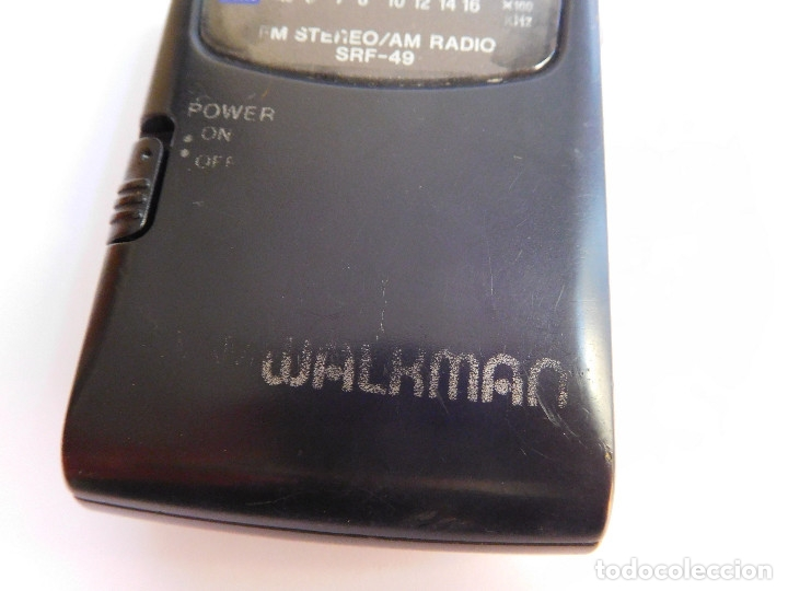 Radios antiguas: RADIO SONY SRF-49 FM STEREO/AM WALKMAN - Foto 6 - 177247823