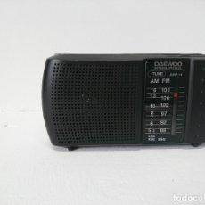 Radios antiguas: 1_RADIO TRANSISTOR DAEWO INTERNACIONAL DRP14. Lote 177388864
