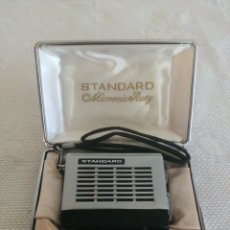 Radios antiguas: RADIO MICROMIC RUBY STANDARD ' EIGHT ' - MODELO SR-H 438 - AÑO 1965.. Lote 177391910