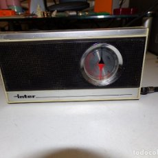 Radios antiguas: RADIO TRANSISTOR INTER EUROMODUL 124. Lote 177422295