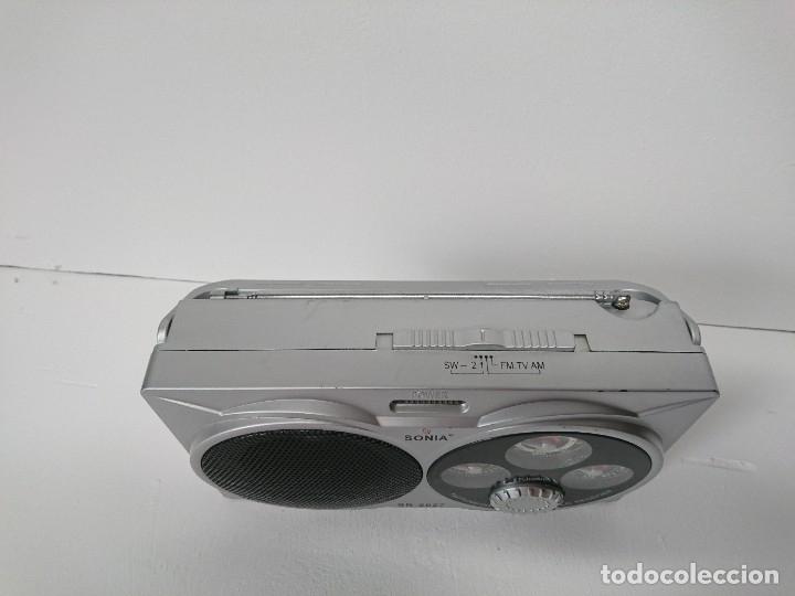 Radios antiguas: 5_Radio transistor Sonia SR2027 - Foto 3 - 174011983