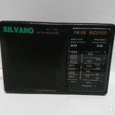 Radios antiguas: 15_RADIO TRANSISTOR SILVANO SL318. Lote 112079027