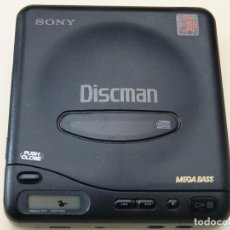 Radios Anciennes: DISCMAN SONY D11 AÑOS 90 D-11 COMPACT DISC MADE IN JAPAN MEGA BASS. Lote 177815820