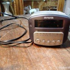 Radios antiguas: RADIO DESPERTADOR AIWA FR-A270EZ - CABLE O PILAS - 13.5 X 11.5 X 10.5CM. Lote 177978830