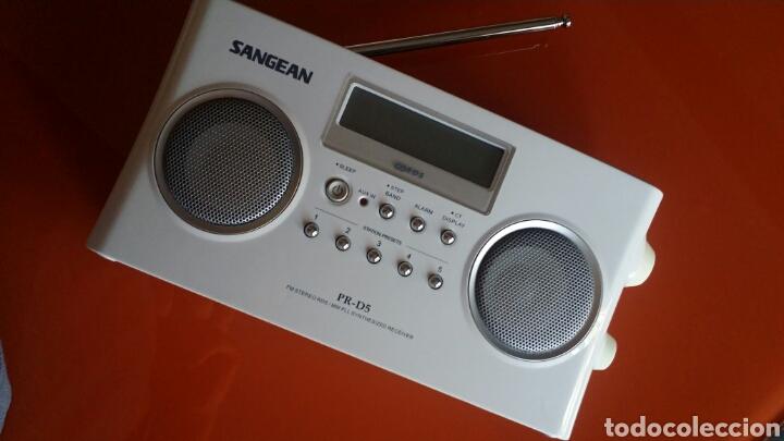 RADIO SANGEAN PR-D5 (Radios, Gramófonos, Grabadoras y Otros - Transistores, Pick-ups y Otros)
