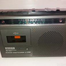 Radios antiguas: RADIO CASSETTE SONY CF-370S. Lote 178188486