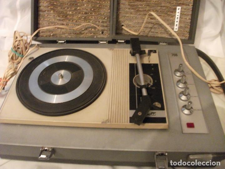 PICK -UP STEREO STIBERT MODEL 708 (Radios, Gramófonos, Grabadoras y Otros - Transistores, Pick-ups y Otros)