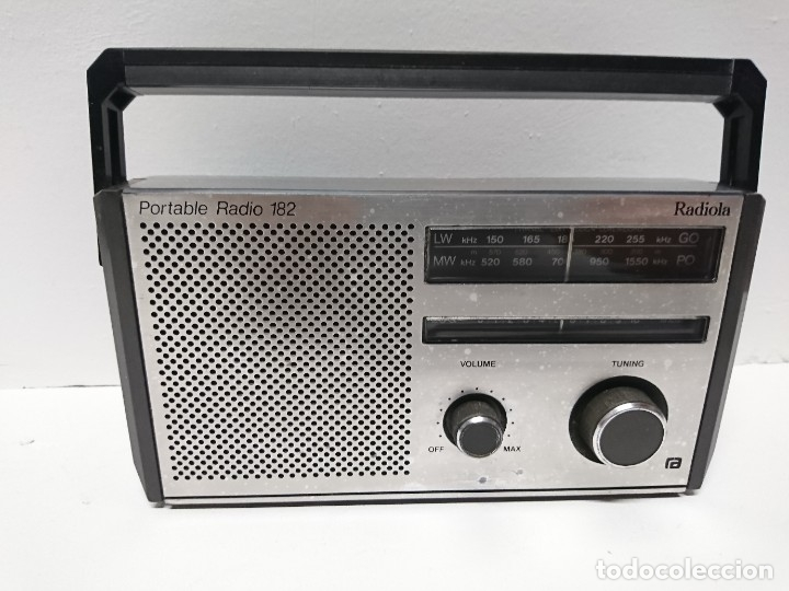 54-RADIO TRANSISTOR RADIOLA AL 90 182 (Radios, Gramófonos, Grabadoras y Otros - Transistores, Pick-ups y Otros)