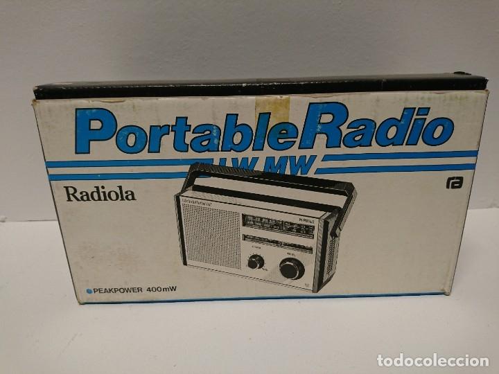 Radios antiguas: 54-Radio transistor Radiola Al 90 182 - Foto 4 - 178310783