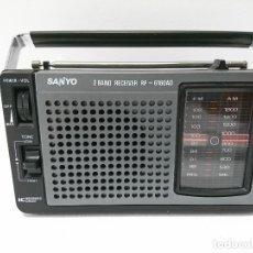 Radios antiguas: 57-RADIO TRANSISTOR SANYO RP 6160AD. Lote 178341325
