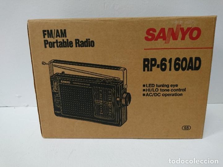 Radios antiguas: 57-Radio transistor Sanyo RP 6160AD - Foto 2 - 178341325