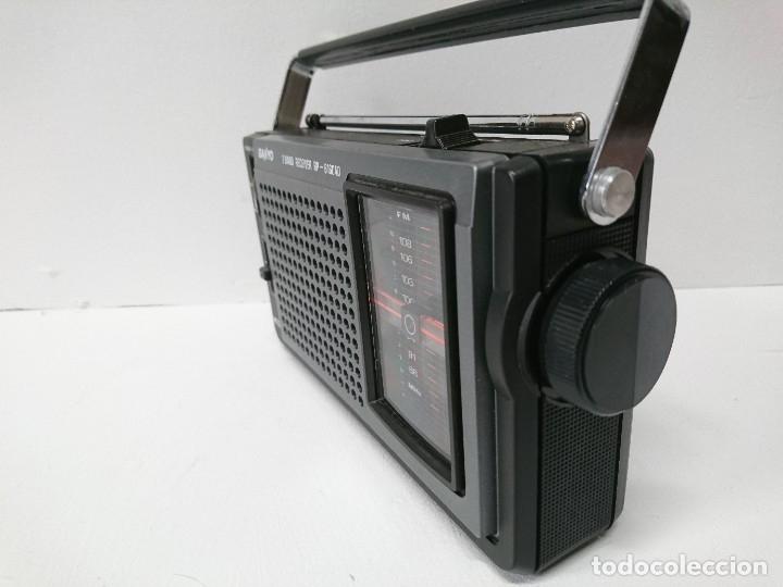 Radios antiguas: 57-Radio transistor Sanyo RP 6160AD - Foto 4 - 178341325