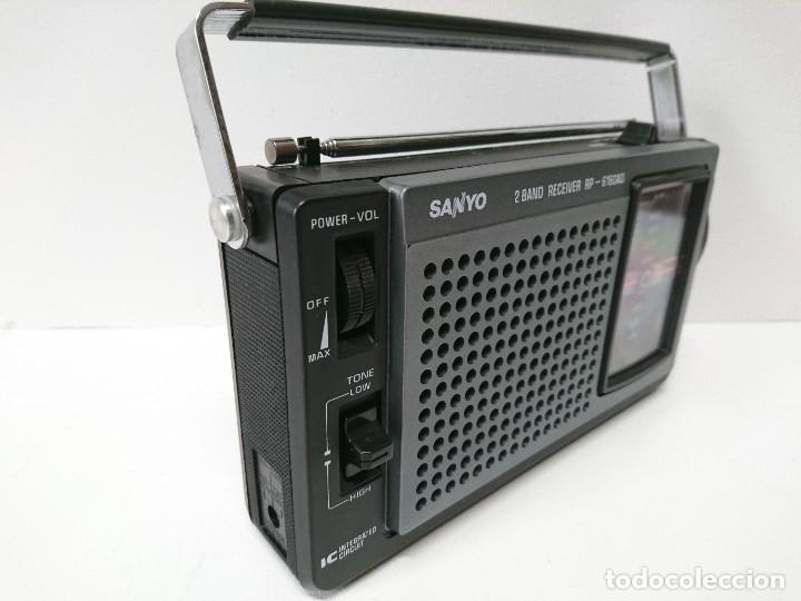 Radios antiguas: 57-Radio transistor Sanyo RP 6160AD - Foto 5 - 178341325