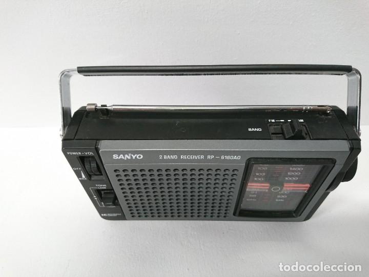 Radios antiguas: 57-Radio transistor Sanyo RP 6160AD - Foto 6 - 178341325