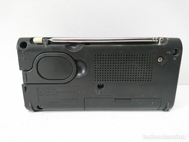 Radios antiguas: 76-Radio transistor Sony ICF480S - Foto 5 - 161350106