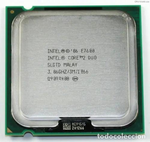 PROCESADOR CORE 2 DUO E7600 (Radios, Gramófonos, Grabadoras y Otros - Transistores, Pick-ups y Otros)
