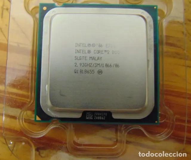 Radios antiguas: Procesador Core 2 Duo E7500 en caja original - Foto 2 - 178827302