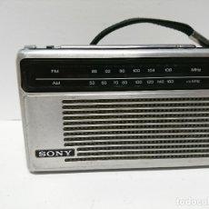 Radios antiguas: 86-RADIO TRANSISTOR SONY TFM -6150 W. Lote 139458086