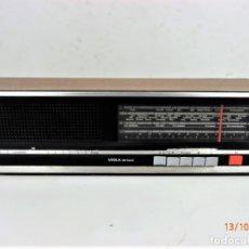 Radios antiguas: RADIO MULTIBANDA ITT SCHAUB-LORENZ VIOLA DE LUXE AÑO 1970. Lote 179094510