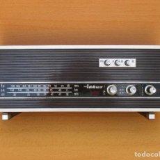Radios antiguas: RADIO INTER FUNCIONA OK , A PILAS NO ESTA PROBADA MEJOR VER FOTOS. Lote 179149553