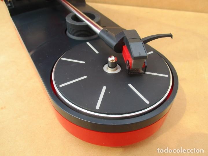 Radios antiguas: Tocadiscos sound burguer de audiotecnia,va con caja y de regalo una aguja nueva fotos - Foto 7 - 179149655