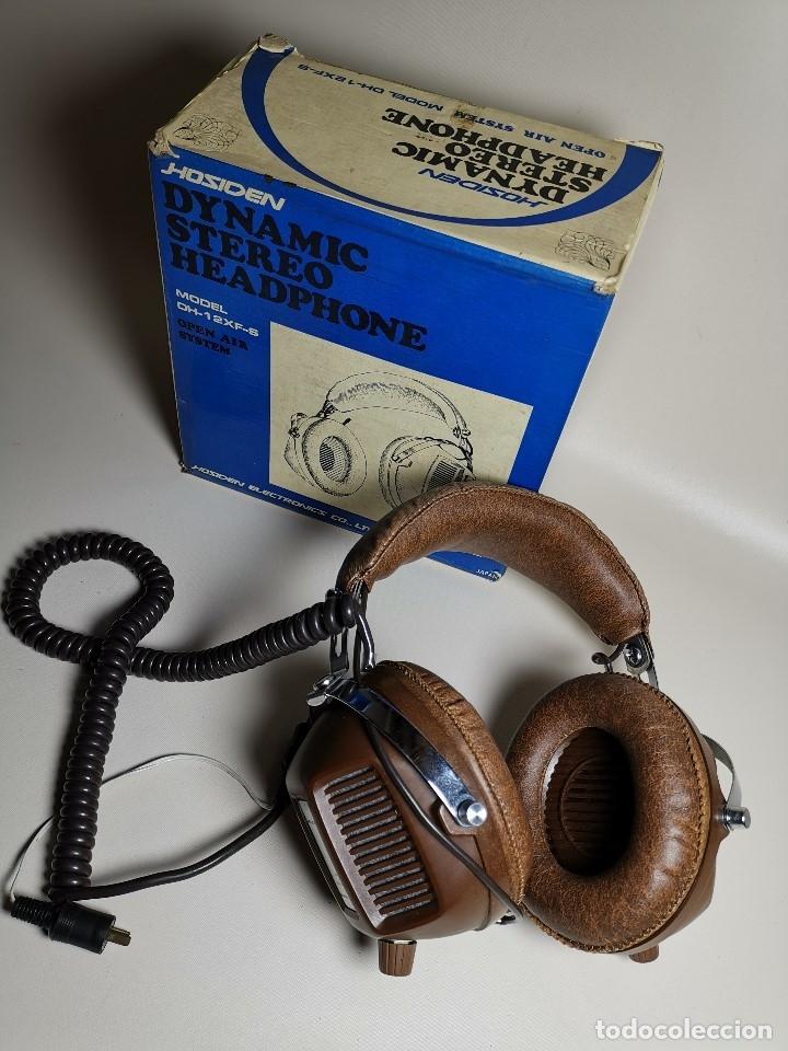 Radios antiguas: AURICULARES HOSIDEN MODEL DH-12XF-S AÑOS 70 MADE IN JAPAN-NUEVOS SIN USO- STEREO HEADPHONES - Foto 3 - 179174751
