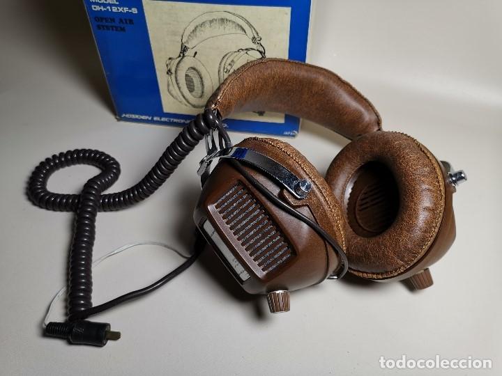 Radios antiguas: AURICULARES HOSIDEN MODEL DH-12XF-S AÑOS 70 MADE IN JAPAN-NUEVOS SIN USO- STEREO HEADPHONES - Foto 5 - 179174751