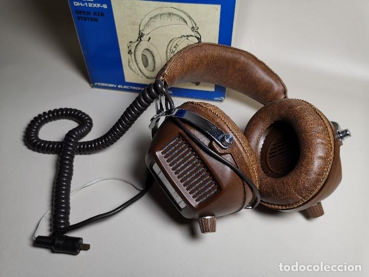 Radios antiguas: AURICULARES HOSIDEN MODEL DH-12XF-S AÑOS 70 MADE IN JAPAN-NUEVOS SIN USO- STEREO HEADPHONES - Foto 6 - 179174751