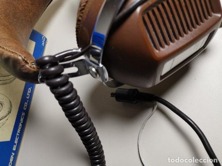 Radios antiguas: AURICULARES HOSIDEN MODEL DH-12XF-S AÑOS 70 MADE IN JAPAN-NUEVOS SIN USO- STEREO HEADPHONES - Foto 8 - 179174751