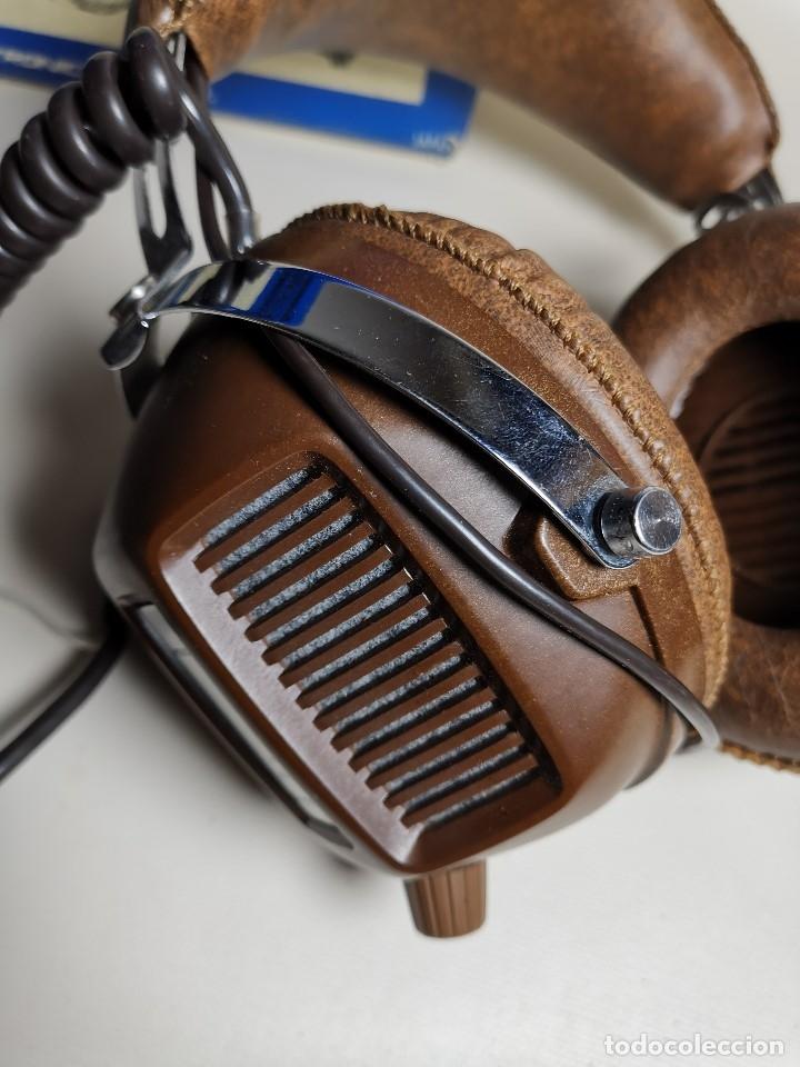 Radios antiguas: AURICULARES HOSIDEN MODEL DH-12XF-S AÑOS 70 MADE IN JAPAN-NUEVOS SIN USO- STEREO HEADPHONES - Foto 9 - 179174751