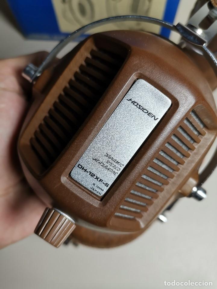 Radios antiguas: AURICULARES HOSIDEN MODEL DH-12XF-S AÑOS 70 MADE IN JAPAN-NUEVOS SIN USO- STEREO HEADPHONES - Foto 12 - 179174751