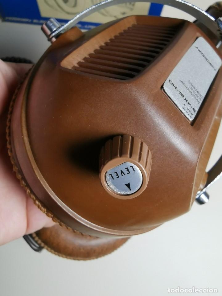 Radios antiguas: AURICULARES HOSIDEN MODEL DH-12XF-S AÑOS 70 MADE IN JAPAN-NUEVOS SIN USO- STEREO HEADPHONES - Foto 13 - 179174751