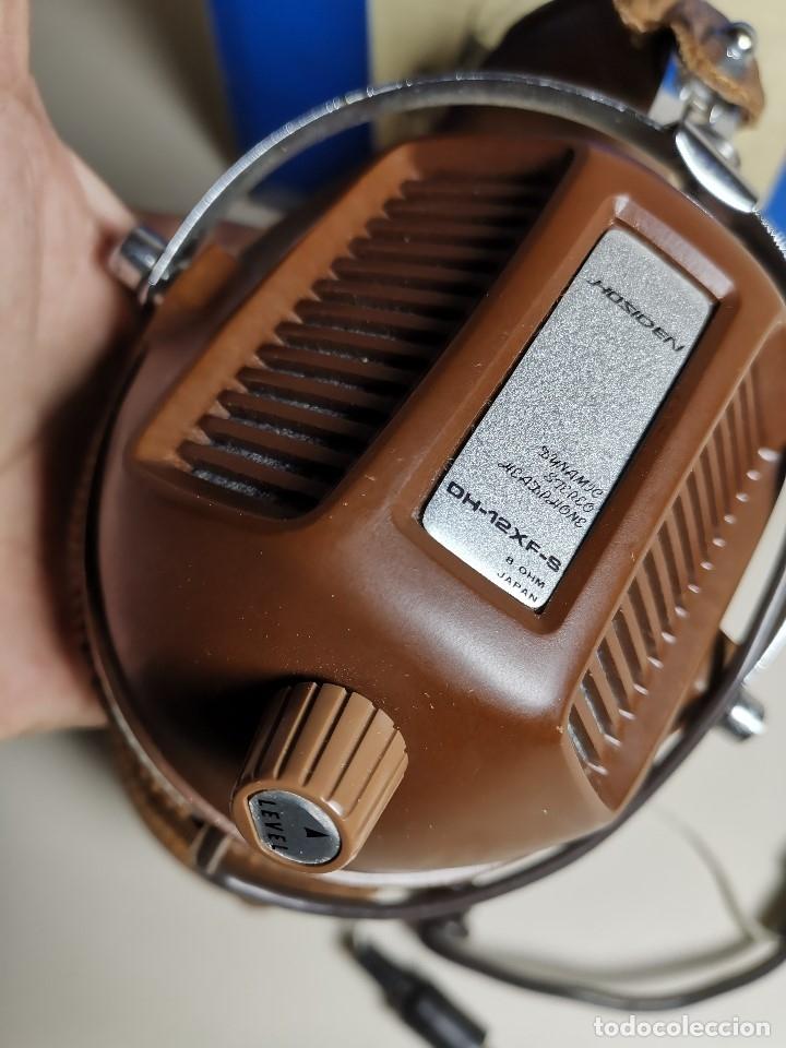 Radios antiguas: AURICULARES HOSIDEN MODEL DH-12XF-S AÑOS 70 MADE IN JAPAN-NUEVOS SIN USO- STEREO HEADPHONES - Foto 16 - 179174751