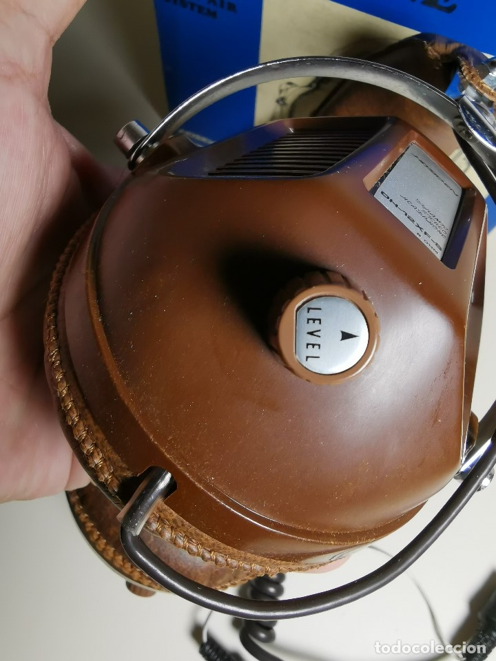 Radios antiguas: AURICULARES HOSIDEN MODEL DH-12XF-S AÑOS 70 MADE IN JAPAN-NUEVOS SIN USO- STEREO HEADPHONES - Foto 17 - 179174751
