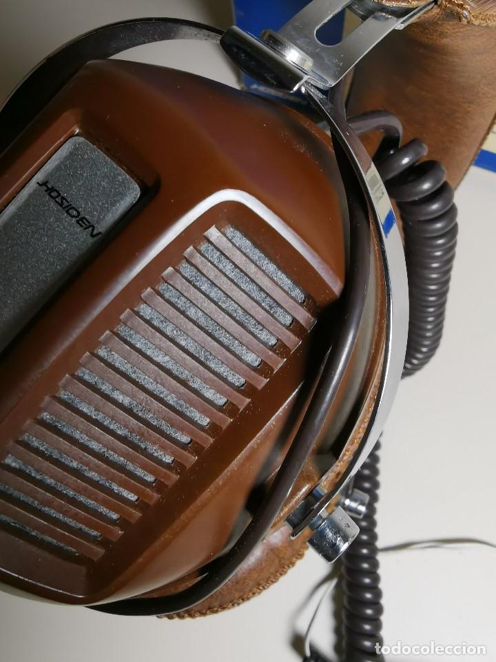 Radios antiguas: AURICULARES HOSIDEN MODEL DH-12XF-S AÑOS 70 MADE IN JAPAN-NUEVOS SIN USO- STEREO HEADPHONES - Foto 18 - 179174751