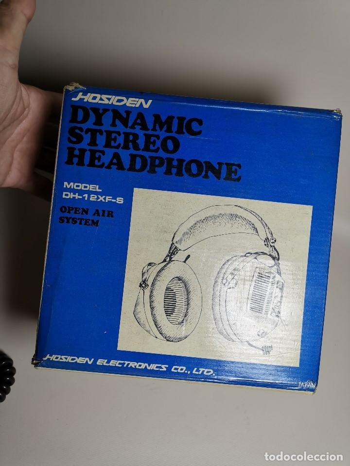 Radios antiguas: AURICULARES HOSIDEN MODEL DH-12XF-S AÑOS 70 MADE IN JAPAN-NUEVOS SIN USO- STEREO HEADPHONES - Foto 22 - 179174751