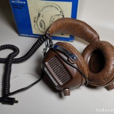 Radios antiguas: AURICULARES HOSIDEN MODEL DH-12XF-S AÑOS 70 MADE IN JAPAN-NUEVOS SIN USO- STEREO HEADPHONES . Lote 179174751