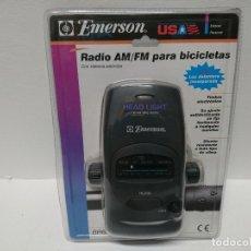 Radios antiguas: 106-RADIO TRANSISTOR BICI EMERSON BR6355S. Lote 179198378